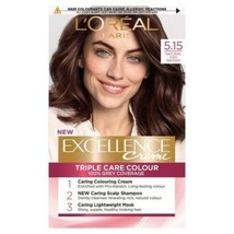 L'oreal Excellence - Natural Iced Brown Permanent Colour Dye 100% Grey Coverage - $23.76