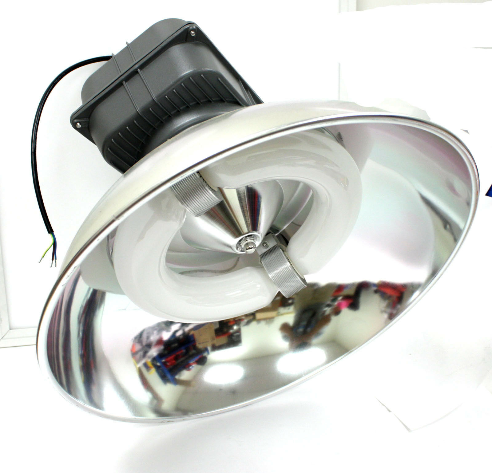"Primary image for 200W 20"" UFO High Bay Light Commercial Industrial Warehouse Inductive Lamp Hood"