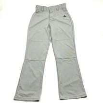 Adidas Climalite Herren Grau Baseball Hose Größe M Medium Belüftet Gerades Bein - $18.75