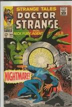 Strange Tales #164 ORIGINAL Vintage 1968 Marvel Comics Dr Strange Jim Steranko - $44.54