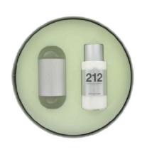 Carolina Herrera 212 Eau De Toilette Spray 3.4 Oz Gift Set image 1