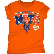MLB New York Mets Girls  Short Sleeve T-Shirt Size 7/8  10/12 14/16 NWT - $16.19