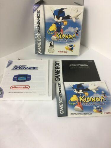 GBA Klonoa Empire Of Dreams ORIGINAL BOX & MANUAL ONLY No Game image 5