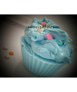 baby powder cupcake soap, cupcake soap, kids soap, party soap, dessert s... - $4.50