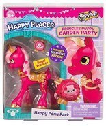 Shopkins Happy Places Royal Prancer Pony Princess Puppy Garden Party S4 - $241,94 MXN