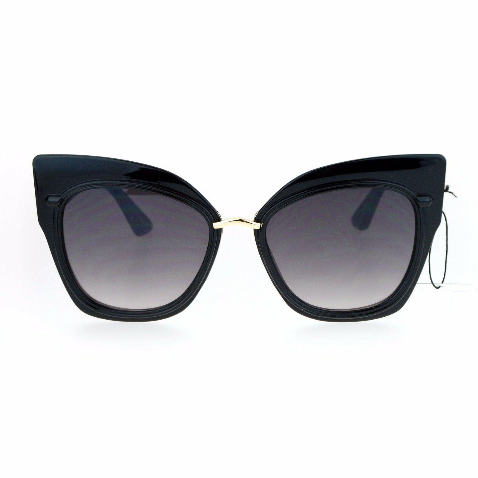 Oversized Fashion Sunglasses Womens Square Cateye Butterfly UV 400 image 6