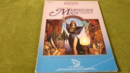 TSR ADVANCED DUNGEONS & DRAGONS THE BOOK OF MARVELOUS MAGIC RPG AC4 9116  - $12.75