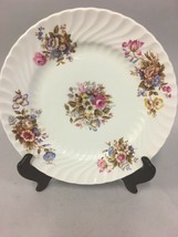 Vintage AYNSLEY Bread  Butter Plate SUMMERTIME Fine Bone China ENGLAND E... - $33.65