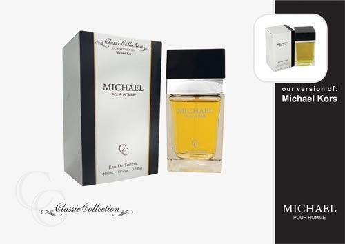 Michael Pour Homme 3.3 oz EDT SPRAY MENS By Classic Collections PRIORITY MAIL