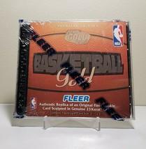 1997 NBA Fleer 23k Gold Rookie Cards In Jewel Case New Sealed!! Jordan-S... - $9.99