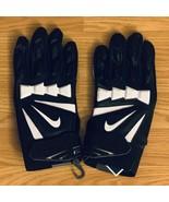 NEW Nike Hyperbeast 2.0 Padded Impact Lineman Black Football Gloves Size... - $39.59