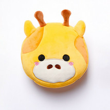 Cutiemals Giraffe Relaxeazzz Plush Round Travel Pillow & Eye Mask Set - $20.33
