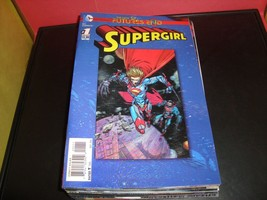 Super Girl #1 Futures End Lenticular Cover (3D) DC Comic Book Near Mint ... - $2.24