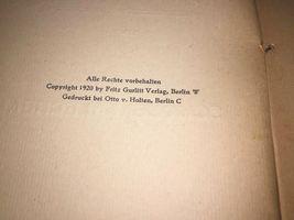 Sch. Gorelik Scholem Alechem Antique Book 1920 Judische Bucherei Germany Judaica image 3