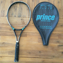 Prince Graphite Sport Widebody Power Tennis Racket No. 3 Grip 4 3/8 with... - $20.09
