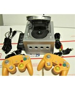 Nintendo Game Cube System Complete, power cord ,video cord & 3 Game cont... - $55.00