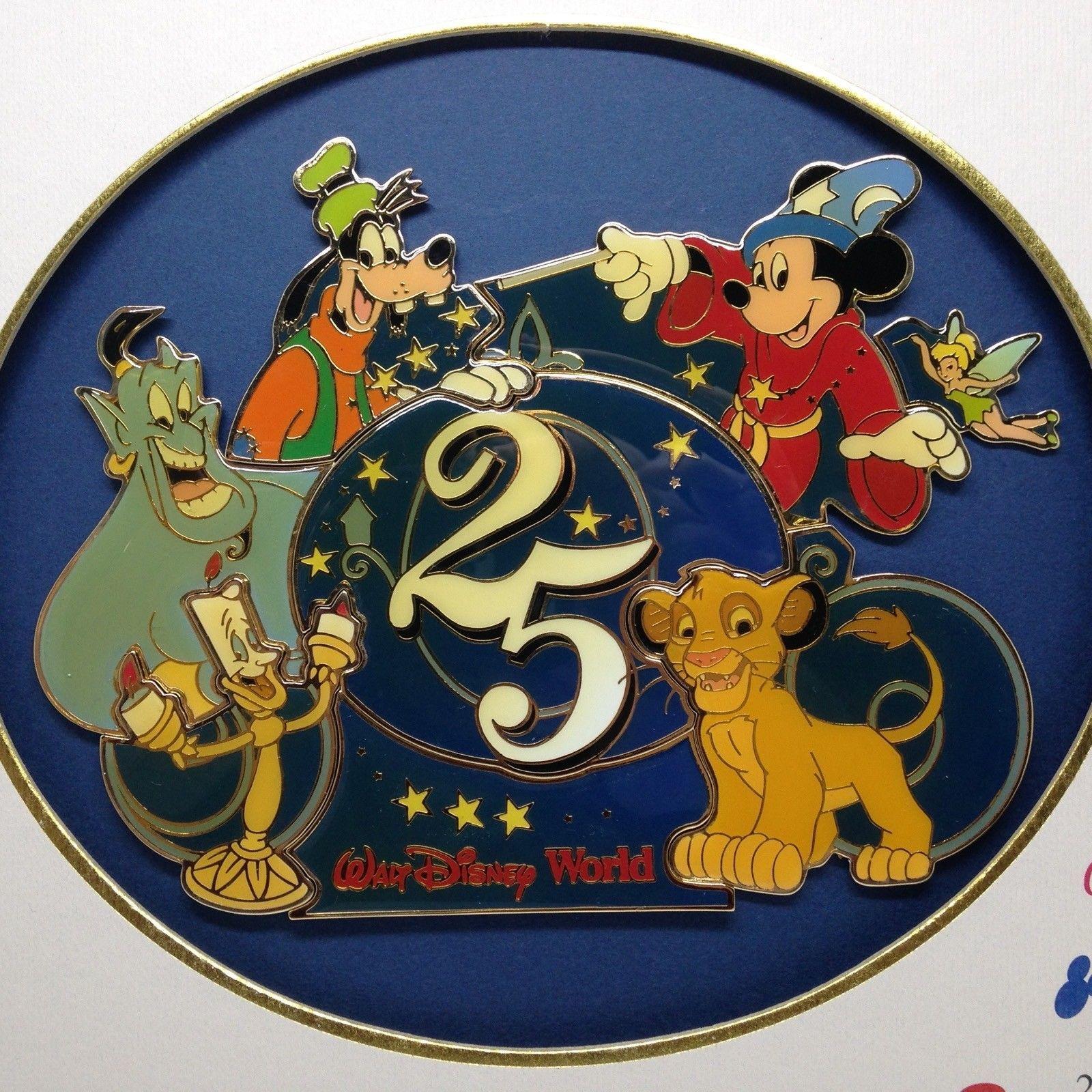 Walt Disney World 25th Anniversary Logo and 50 similar items