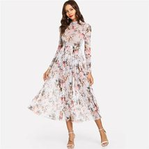 Highstreet Party Floral A Line Dress Lady Women Dresses - $26.00+