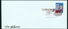 Dick Giordano Sdcc Plastic Man Usps Fdi First Day Issue Dc Super Hero Stamp Fdc - $29.69