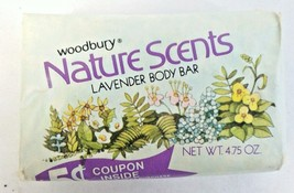 VTG Woodbury Nature Scents Lavendar Body Bar So... - $9.89
