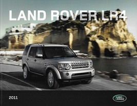 2011 Land Rover LR4 sales brochure catalog US 11 Discovery - $12.00