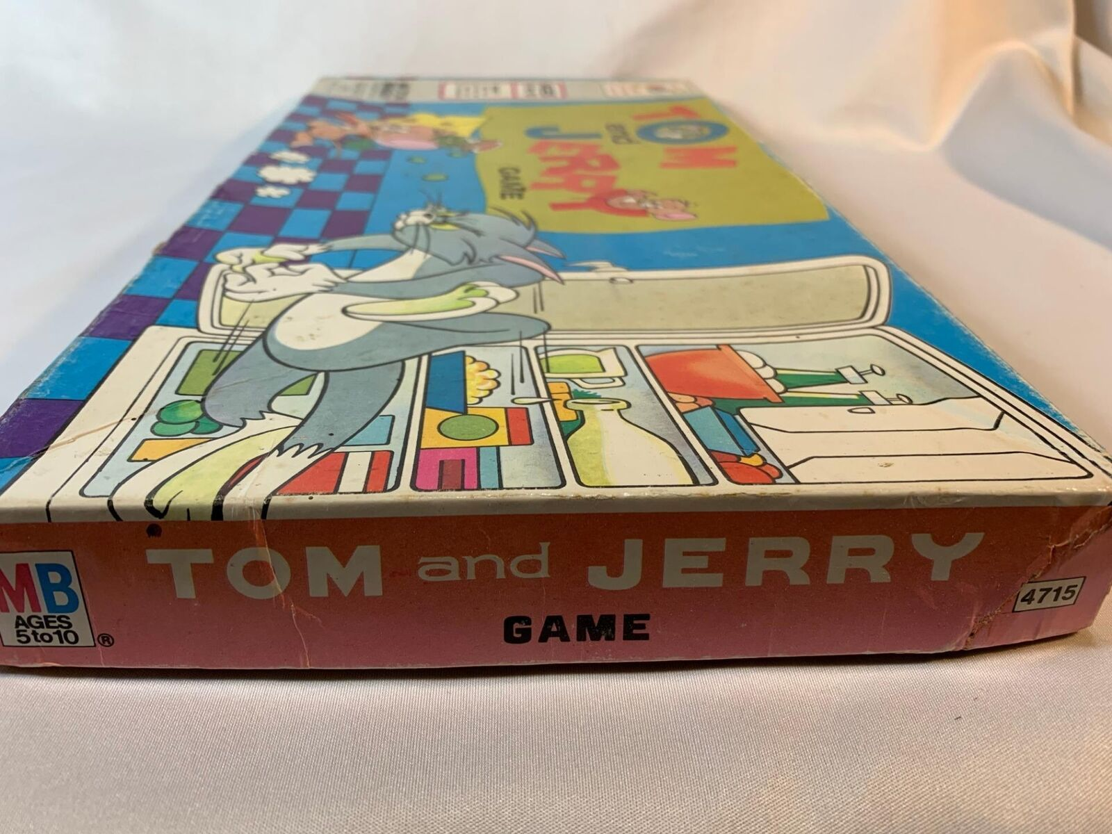 Vintage Tom and Jerry Board Game Milton Bradley 1977 Complete