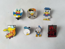 Disney Trading Pins Official Donald Duck Lot of 7 Collectible - $30.45