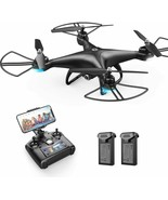 Holy Stone HS110D Quadcopter Drone FPV 120° Wide-Angle HD Camera Altitud... - $70.51