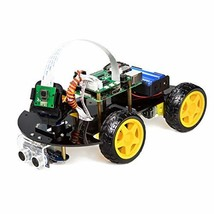 UCTRONICS Robot Car Kit for Raspberry Pi - Real Time Image and Video, Li... - $90.11