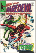 Daredevil Comic Book #42, Marvel Comics 1968 VERY FINE - $33.78