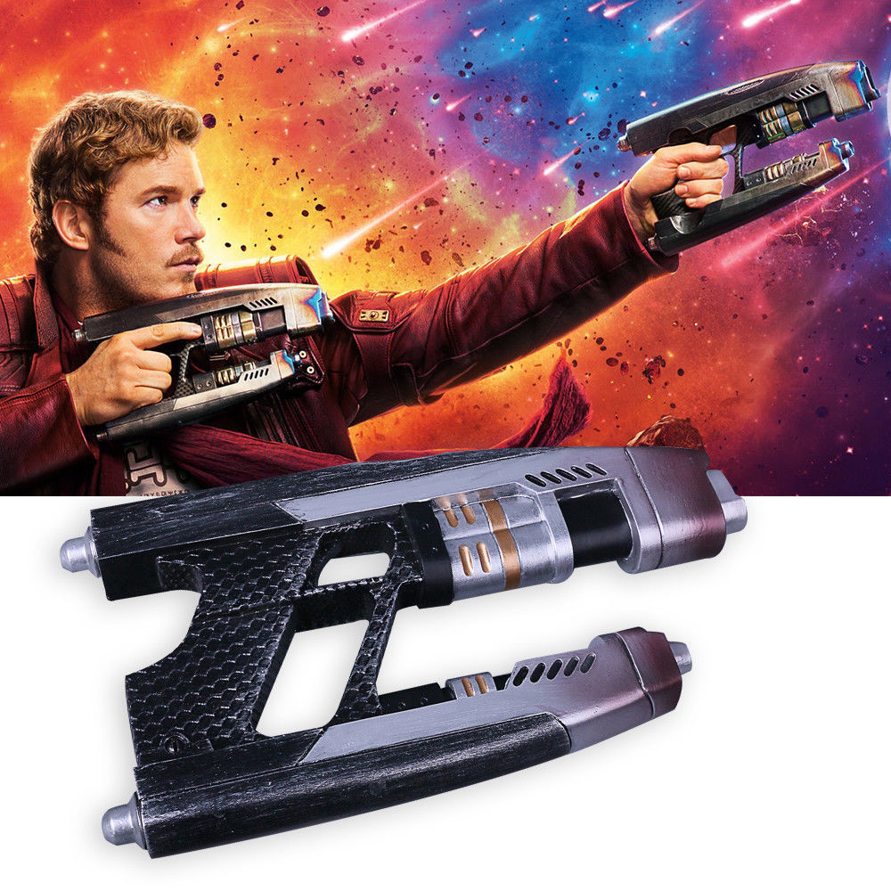 Primary image for 2X Star-Lord Infinity War Element Gun Avengers 3 Star Lord Gun Weapon Prop New