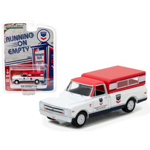 1968 Chevrolet C-10 Standard Oil Pickup Truck 1/64 Diecast Model Car by Greenlig - $12.80