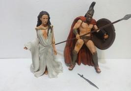 300  NECA action figure lot King Leonidas Queen Gorgo - $56.10