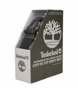 NEW Timberland Men's Reversible Leather Belt BLACK to BROWN  FREE SHIPPING - $24.99