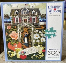 Nib New Charles Wysocki Home Is My Sailor Puzzle Buffalo 300 Piece - $21.53