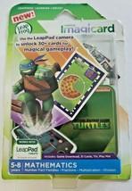 NEW LeapFrog Imagicard Teenage Mutant Ninja Turtles MATH Learning Game L... - $12.99