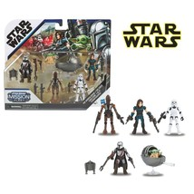 Star Wars Mission Fleet Defend the Child Mandalorian Action Figure Set of 5 - $34.64