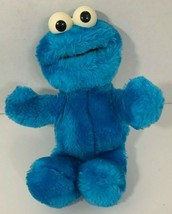 "Sesame Street Vintage 1993 Cookie Monster 9"" Plush Applause plastic eyes - $9.89"