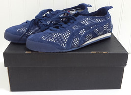 New Asics RARE Onitsuka Tiger MEXICO 66 D3S0N 5050 Navy White Sneakers U... - $188.17