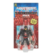 NEW SEALED 2021 Masters of the Universe Retro Ninjor Action Figure - $34.64