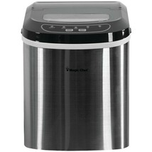 Magic Chef MCIM22ST 27-Pound-Capacity Portable Ice Maker (Stainless with Black - $173.73