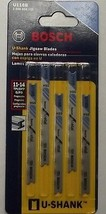 "Bosch U118B 2 3/4"" 14TPI HSS U-Shank Jigsaw Blade 5 Pack For Metal Swiss - $2.23"