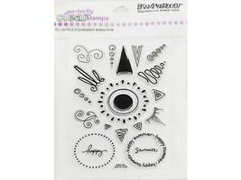 Stampendous Sun Elements Clear Cling Stamp Set #SSC183 - $6.99