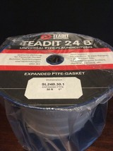 Teadit Expanded PTFE Gasket SL24B.30.1 Joint Sealant 30ft. 1 Inch Wide - $280.00