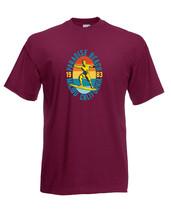Paradise Beach 1983 Malibu California Surfing Graphic Quality Tee T-Shir... - $14.23