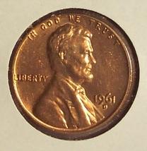 1961-D Lincoln Memorial Penny Gem BU #01122 - $0.89