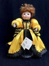 """Marie Osmond 10"""" Porcelain Collector Doll Queen Bee Ladybug Ball No Orig... - $18.66"""
