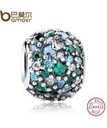 Buy GIFT Charms Fit Original Bracelet Sterling 925 Silver Ocean Mosaic P... - $36.99