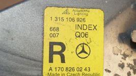97-04 Mercedes SLK230 SLK320 R170 Parking Corner Light Lamps Set Pair L&R image 6