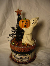 Bethany Lowe Happy Haunting Ghost on Box  image 1